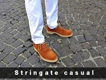 Scarpe Stringate Casual